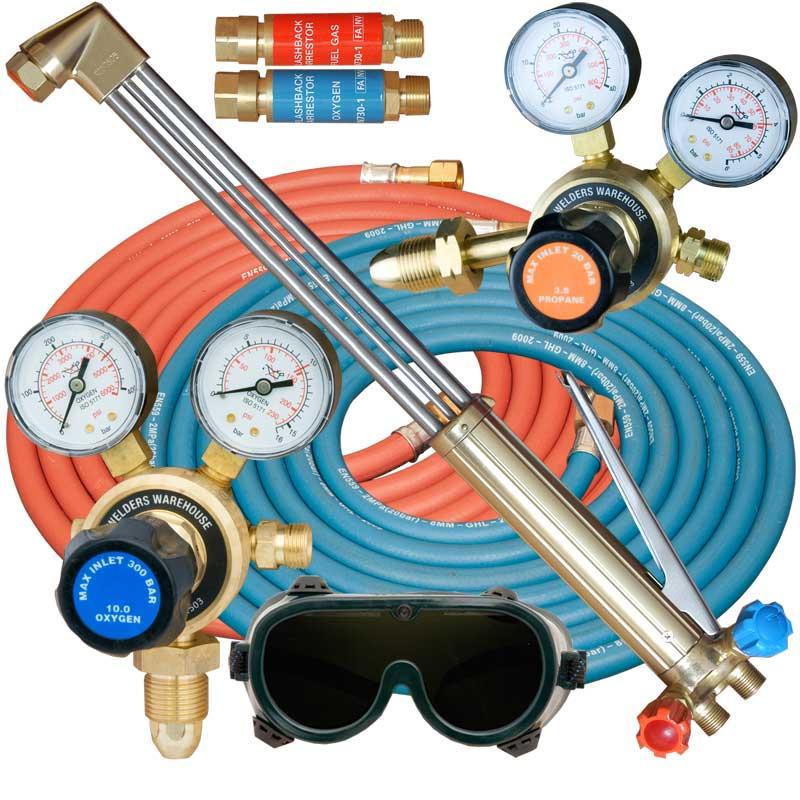 Oxy Propane/Propylene Gas Cutting Kit