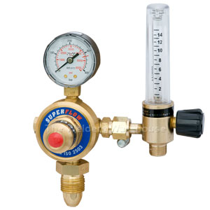 Argon Regulator + Flowmeter
