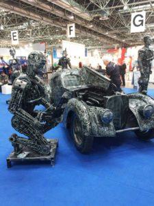 Car Metal Sculpture