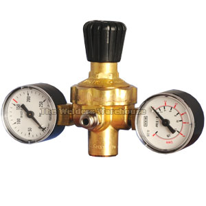 Regulator for Disposable Cylinders (with Gauges)