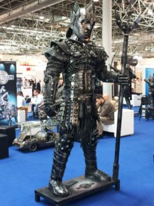 Warrior Metal Sculpture