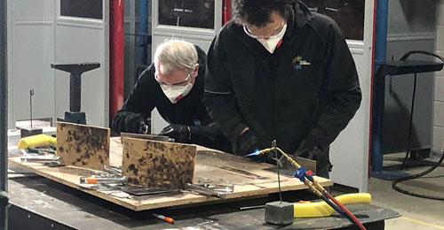 Lead Welding ant the Lead Sheet Training Academy