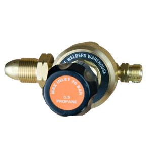 Choosing Welding Gas Regulators for Propane (No Gauge)