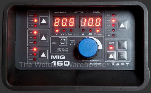 Synergic Mig Welder Panel